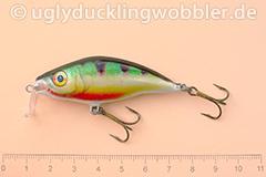 Wobbler Ugly Duckling 6 cm schwimmend Flachläufer PR (Barsch)