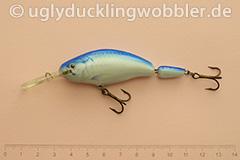 Wobbler Ugly Duckling 7,5 cm schwimmend zweiteilig Tiefläufer TR (Tarpun)