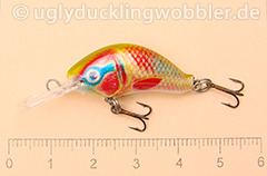 Wobbler Ugly Duckling 2,8 cm sinkend  DOR (Dorado)