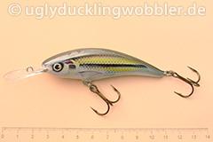 Wobbler Ugly Duckling 8 cm sinkend  SI (Schneider)