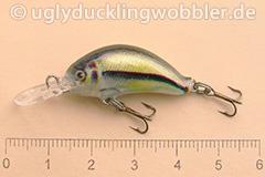Wobbler Ugly Duckling 2,8 cm sinkend  SI (Schneider)