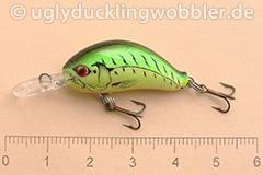 Wobbler Ugly Duckling 2,8 cm sinkend  FT (Firetiger)