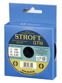 Profi Angelschnur STROFT GTM (monofil) * 0,28 mm *  7,30 kg * 100 Meter