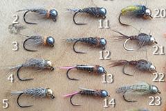 Ugly Duckling handgemachte Fliegen: Fliege Nr. 23