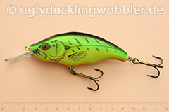 Wobbler Ugly Duckling Rassel 8,5 cm schwimmend  FT (Firetiger)