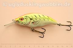 Wobbler Ugly Duckling Rassel 8,5 cm schwimmend  FTR (Firetiger rot)