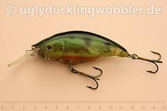 Wobbler Ugly Duckling Rassel 8,5 cm schwimmend reflektierend PR (Barsch)