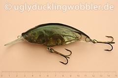 Wobbler Ugly Duckling Rassel 8,5 cm schwimmend reflektierend S (Döbel)
