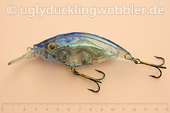 Wobbler Ugly Duckling Rassel 8,5 cm schwimmend reflektierend TR (Tarpun)