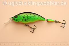 Wobbler Ugly Duckling Rassel 11,5 cm schwimmend zweiteilig  FT (Firetiger)
