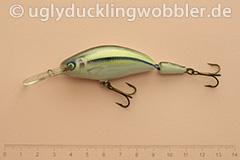 Wobbler Ugly Duckling 7,5 cm schwimmend zweiteilig Tiefläufer SI (Schneider)