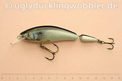 Wobbler Ugly Duckling 9,5 cm schwimmend zweiteilig Mittelläufer S (Döbel)