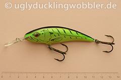 Wobbler Ugly Duckling 8 cm sinkend  FT (Firetiger)