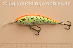 Wobbler Ugly Duckling 8 cm schwimmend  FTR (Firetiger rot)