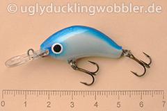 Wobbler Ugly Duckling 3,5 cm sinkend  BH (Blauer Kopf)