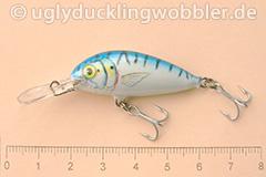 Wobbler Ugly Duckling 4 cm schwimmend  MAC (Makrele)