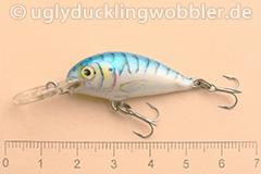 Wobbler Ugly Duckling 3,5 cm schwimmend  MAC (Makrele)