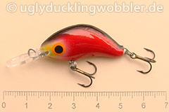Wobbler Ugly Duckling 3,5 cm sinkend  BD (Blutig)