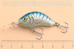Wobbler Ugly Duckling 3,5 cm sinkend  MAC (Makrele)