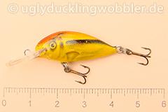 Wobbler Ugly Duckling 2,8 cm schwimmend  SI GOLD (Schneider gold)