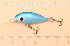 Wobbler Ugly Duckling 2,8 cm schwimmend  DB (Tief Blau)