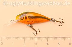 Wobbler Ugly Duckling 2,8 cm schwimmend  SI RED (Schneider rot)