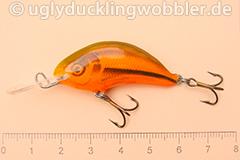 Wobbler Ugly Duckling 4 cm sinkend  SI RED (Schneider rot)