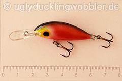 Wobbler Ugly Duckling 4 cm schwimmend  BD (Blutig)