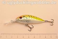 Wobbler Ugly Duckling 5 cm schwimmend  FTR (Firetiger rot)