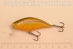 Wobbler Ugly Duckling 6 cm schwimmend Flachläufer SI RED (Schneider rot)