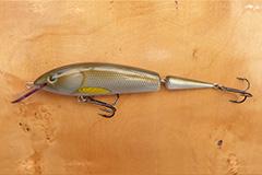 Wobbler Ugly Duckling 15 cm 25 Gramm schwimmend UNIKAT Nr. 01 Mittelläufer