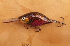 Wobbler Ugly Duckling 7 cm 25 Gramm schwimmend UNIKAT Nr. 10 Tiefläufer