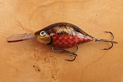 Wobbler Ugly Duckling 7 cm 25 Gramm schwimmend UNIKAT Nr. 11 Tiefläufer