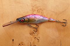 Wobbler Ugly Duckling 9 cm 13 Gramm schwimmend UNIKAT Nr. 32 Tiefläufer