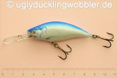 Wobbler Ugly Duckling 6 cm schwimmend Tiefläufer TR (Tarpun)