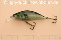 Wobbler Ugly Duckling 6 cm schwimmend Mittelläufer S (Döbel)