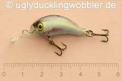 Wobbler Ugly Duckling 2,8 cm sinkend  YE (Regenbogenforelle hell)