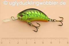 Wobbler Ugly Duckling 4 cm sinkend  FT (Firetiger)