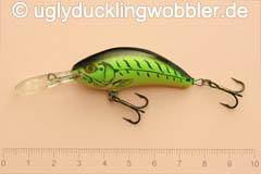 Wobbler Ugly Duckling 5 cm sinkend  FT (Firetiger)