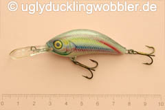 Wobbler Ugly Duckling 5 cm sinkend  RE (Regenbogenforelle)